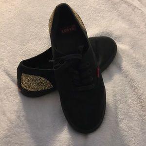 Levi's tennis shoes.